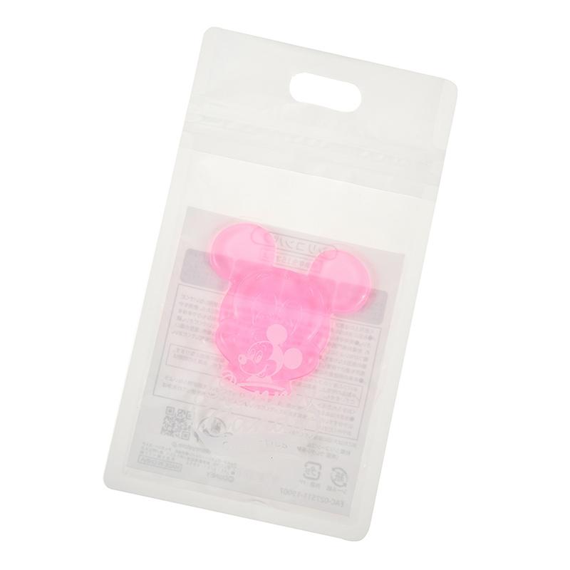 シリコンパフ ミッキー ピンク Gummy Candy Cosme