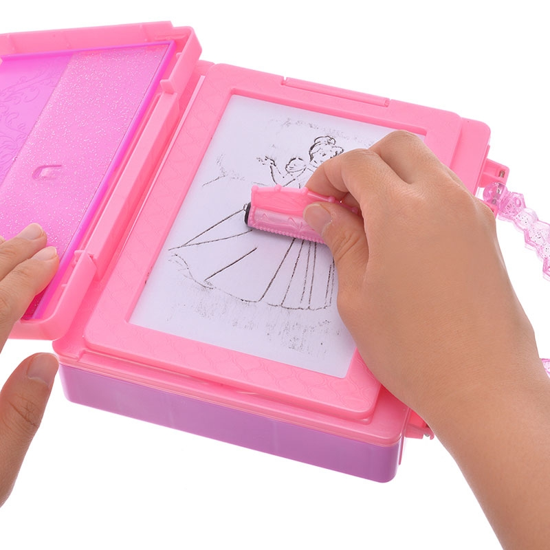 ディズニープリンセス おもちゃ デザインプレートセット