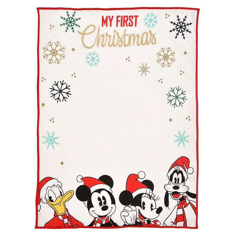 ミッキー&フレンズ ブランケット セット クリスマス Disney baby