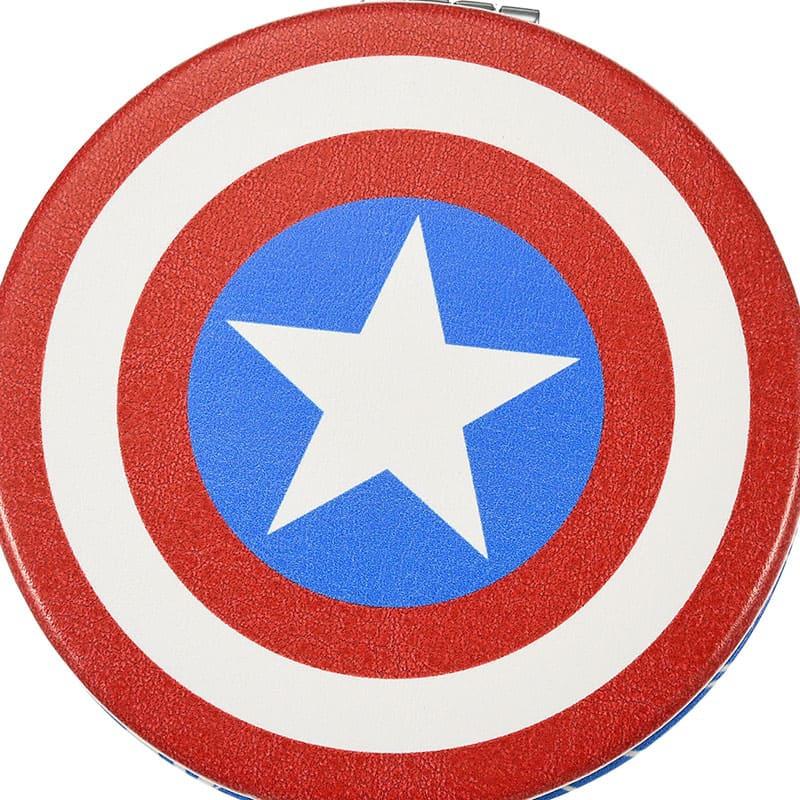 マーベル キャプテン・アメリカ ハンドミラー・手鏡 シールド
