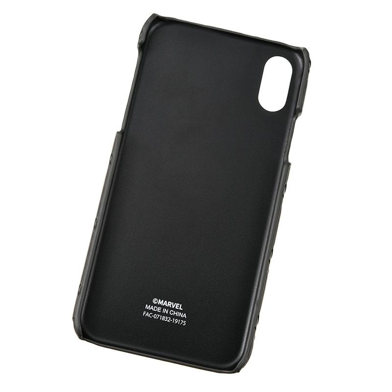 マーベル iPhone X/XS用スマホケース・カバー ロゴ