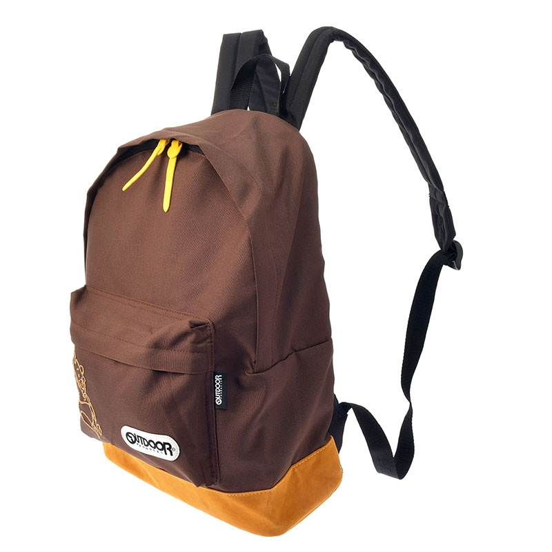 【OUTDOOR PRODUCTS】プーさん リュックサック・バックパック 刺しゅう ツートン