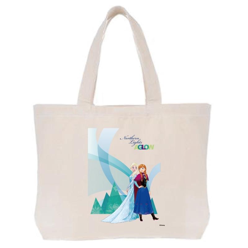 【D-Made】トートバッグ  アナと雪の女王 アナ&エルサ