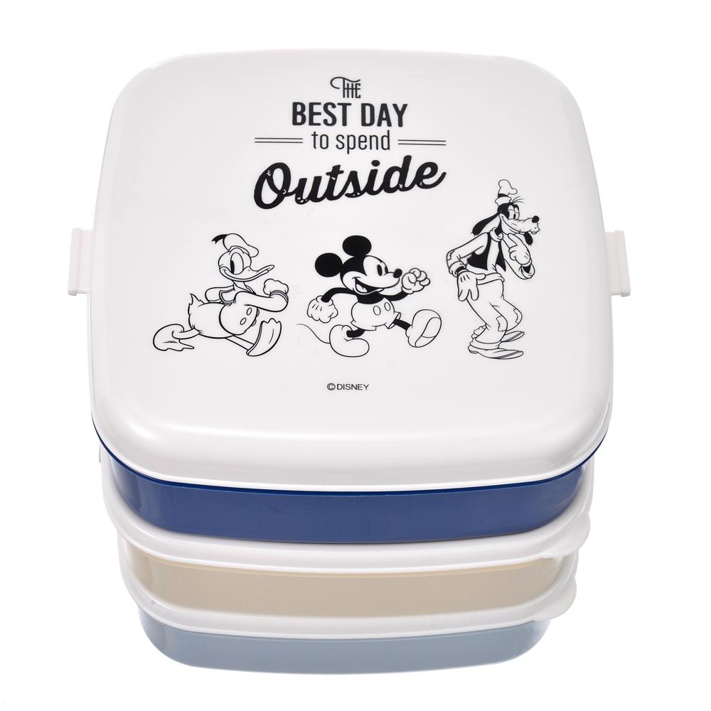 ミッキー&フレンズ お弁当箱 3段 Disney Outdoor 2020