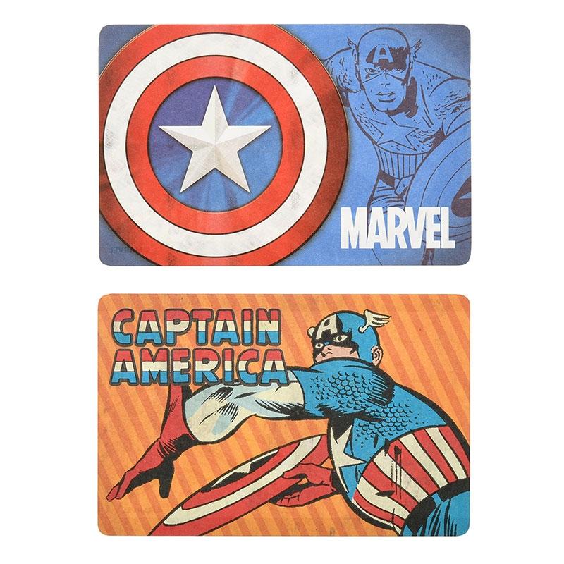 【アウトレット】マーベル キャプテン・アメリカ メモ帳 カセットテープ コミック