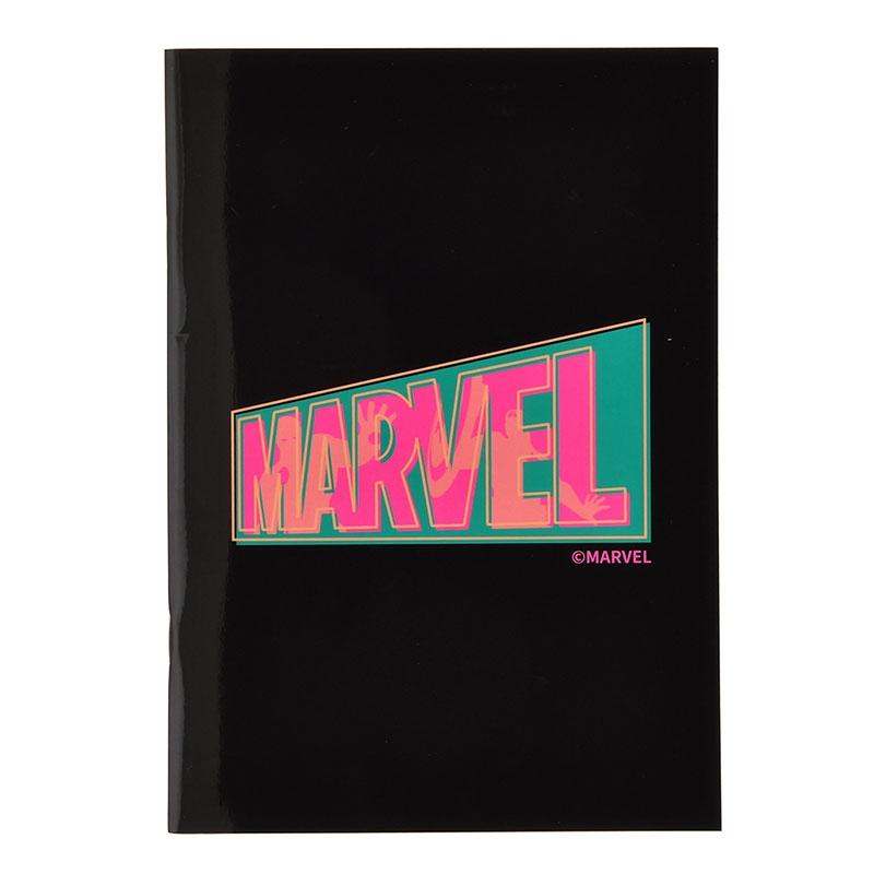 【アウトレット】マーベル アイアンマン、キャプテン・アメリカ ノート ロゴ Vivid
