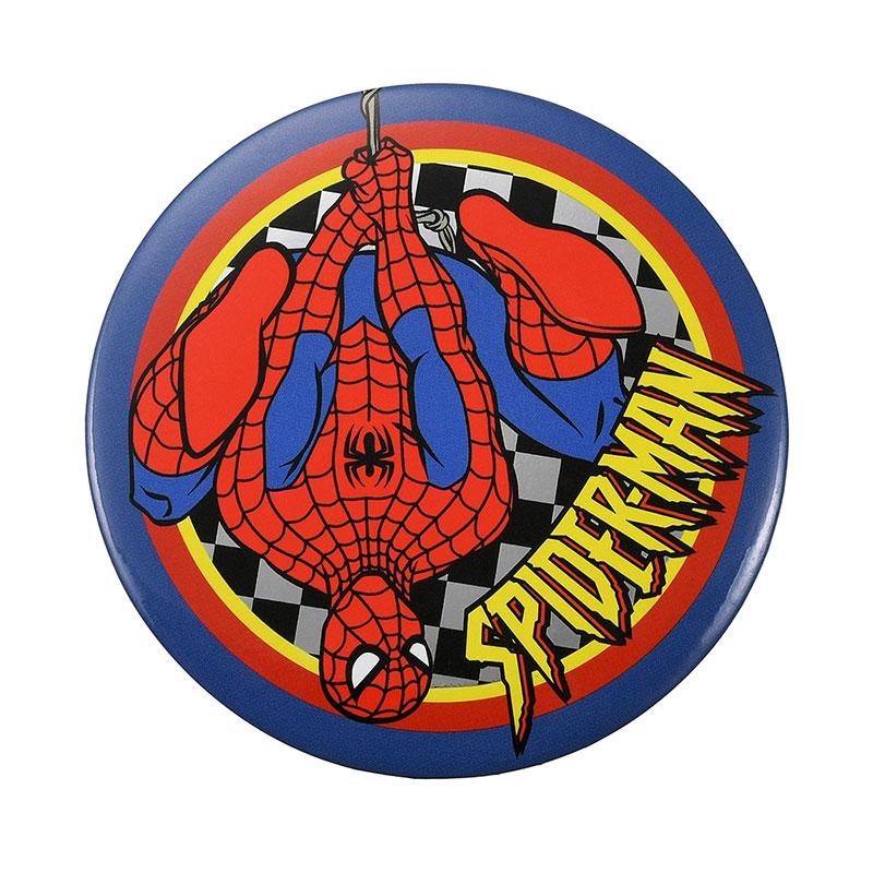 マーベル スパイダーマン 缶バッジ American Vintage For 80th Anniversary