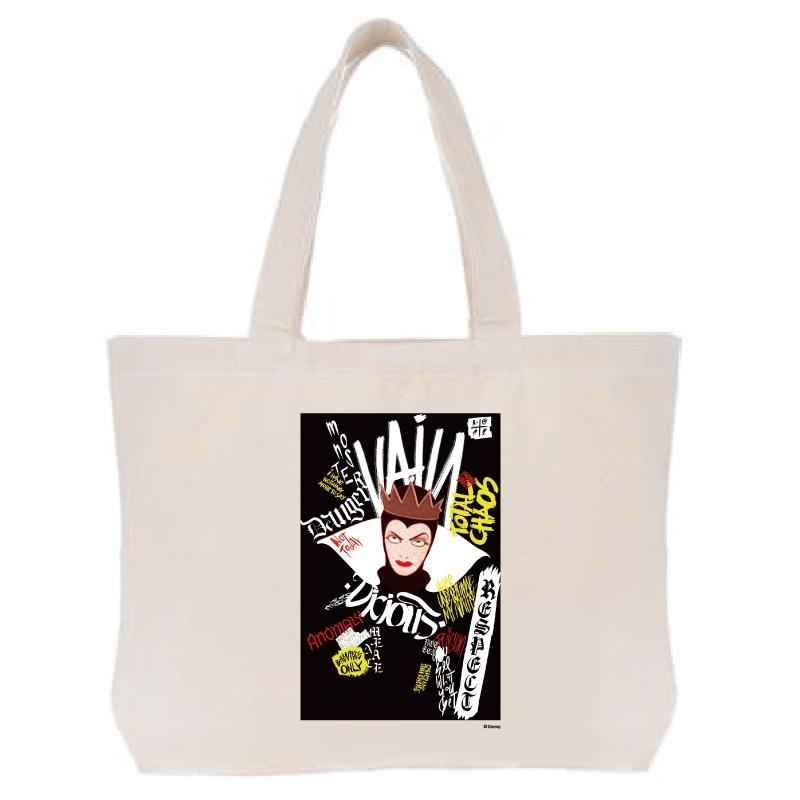 【D-Made】トートバッグ  白雪姫 女王 ヴィランズ