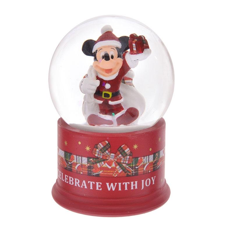 ミッキー スノードーム Disney Christmas