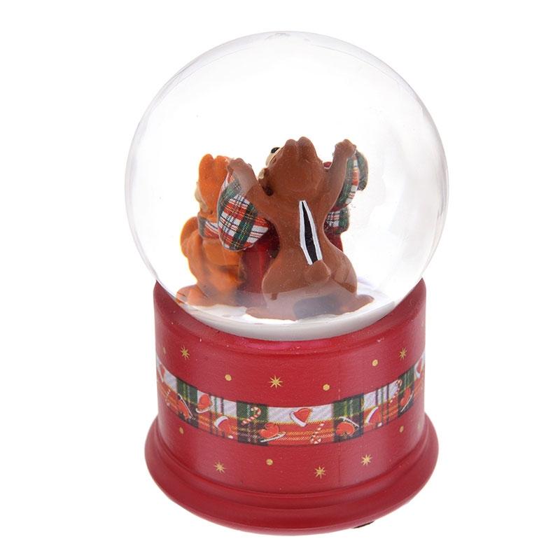 チップ&デール スノードーム Disney Christmas