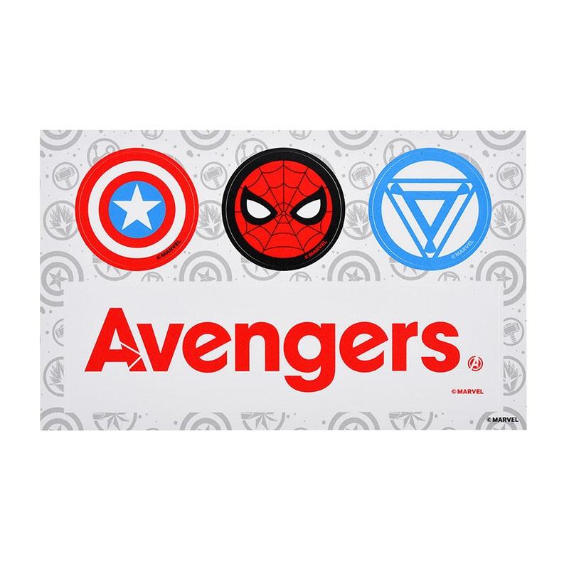 シール・ステッカー マーベル アイアンマン、キャプテン・アメリカ、スパイダーマン アベンジャーズ/エンドゲーム