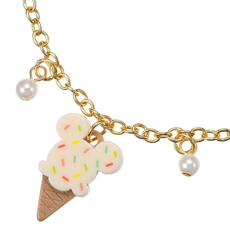 ミッキー ブレスレット アイスクリーム Summer Trend