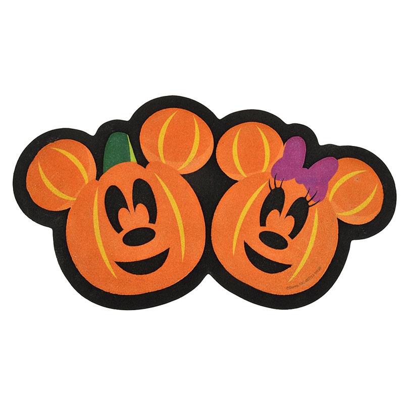 ミッキー&ミニー テラスマット パンプキン ハロウィーン