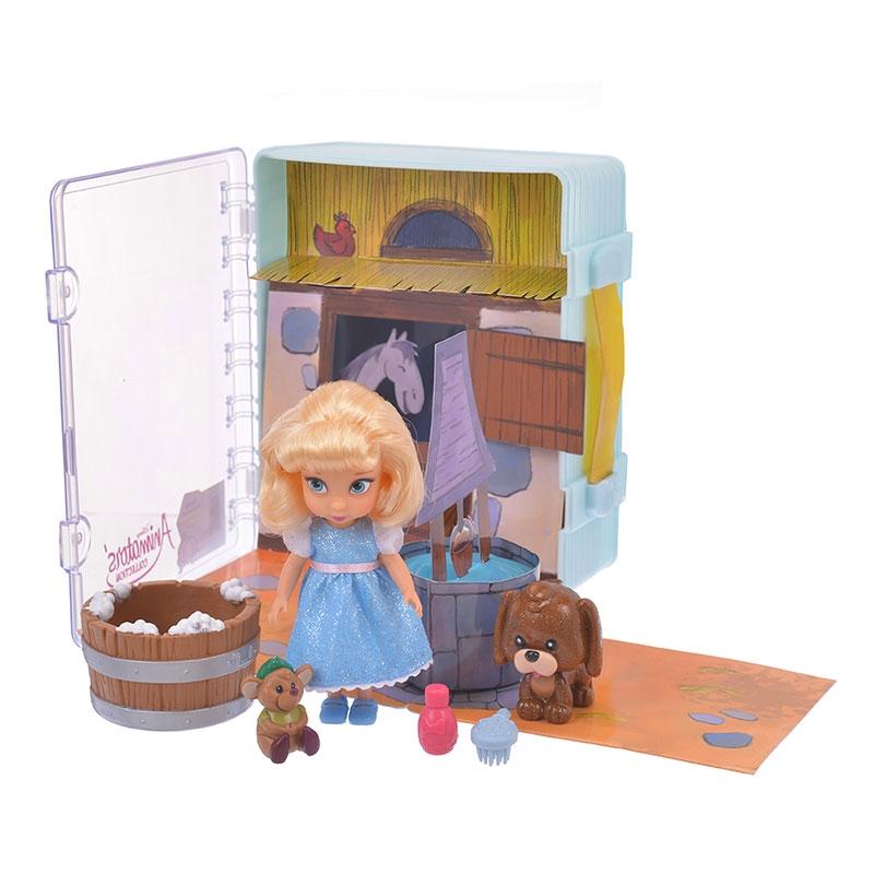 ディズニー アニメーターズ コレクションドール ミニプレイセット シンデレラ ポップアップ