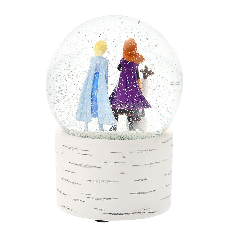 アナ、エルサ、オラフ スノードーム アナと雪の女王2