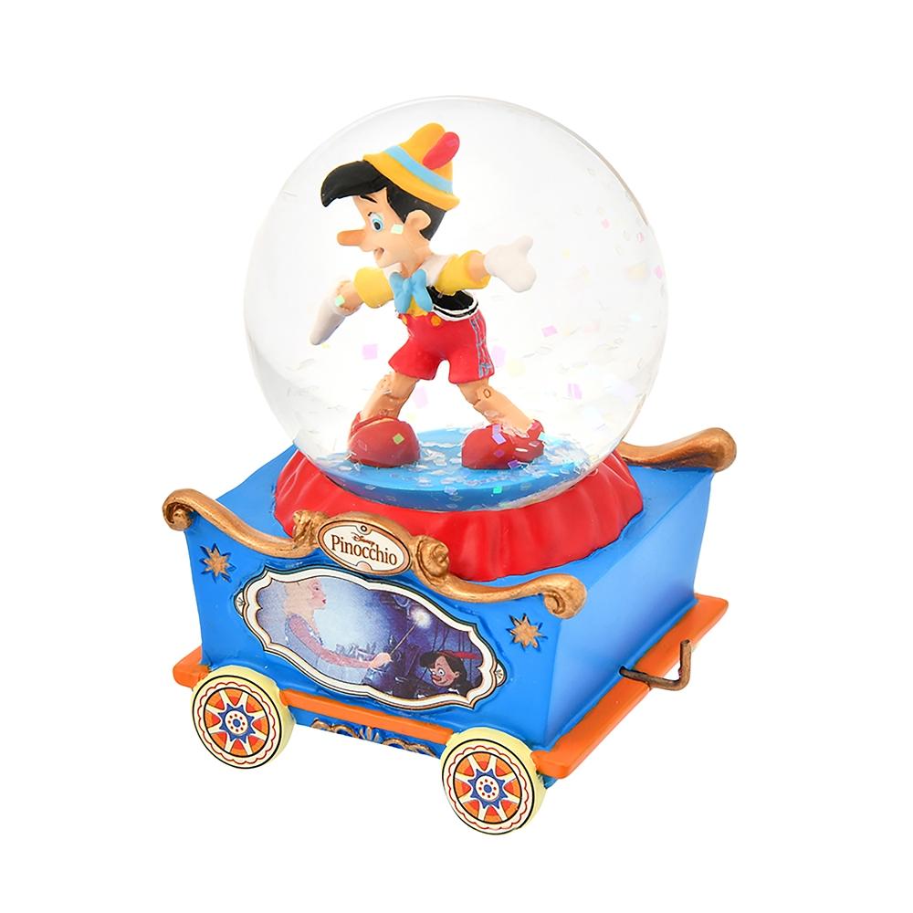 【再入荷】ピノキオ スノードーム ミニ トロッコ