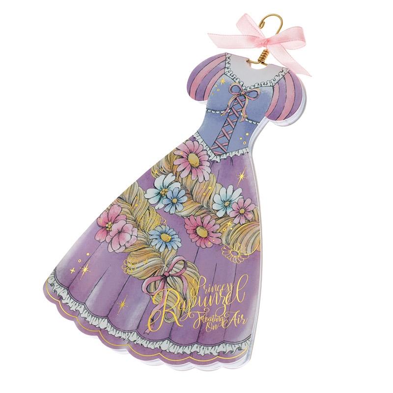 メモ帳 ダイカット ラプンツェル ドレス Princess Party