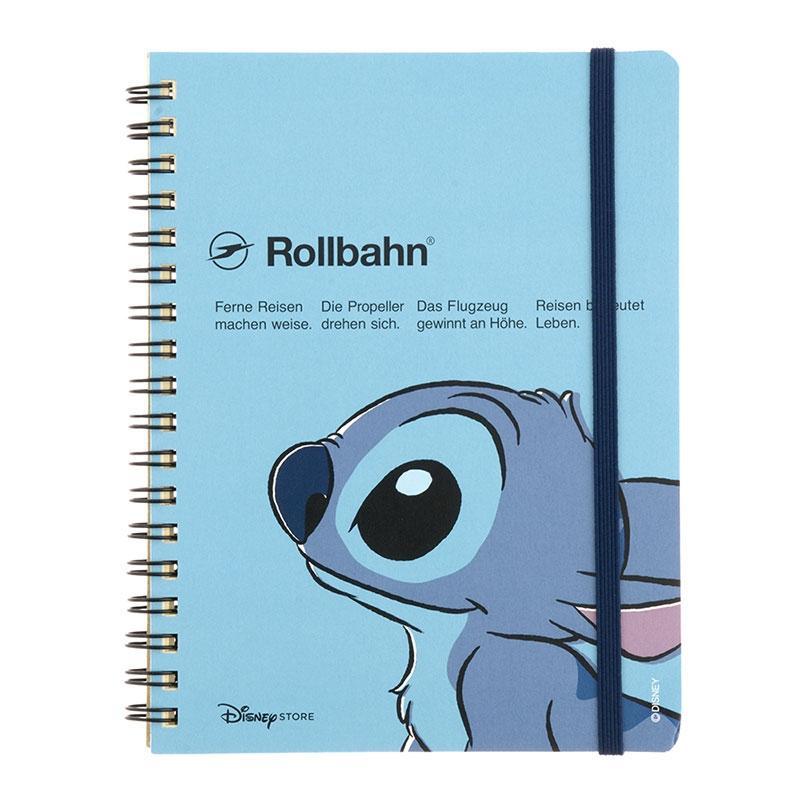 【デルフォニックスとの特別共同企画】Rollbahn ポケット付メモ スティッチ