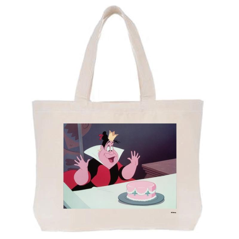【D-Made】トートバッグ  ふしぎの国のアリス ハートの女王 ヴィランズ