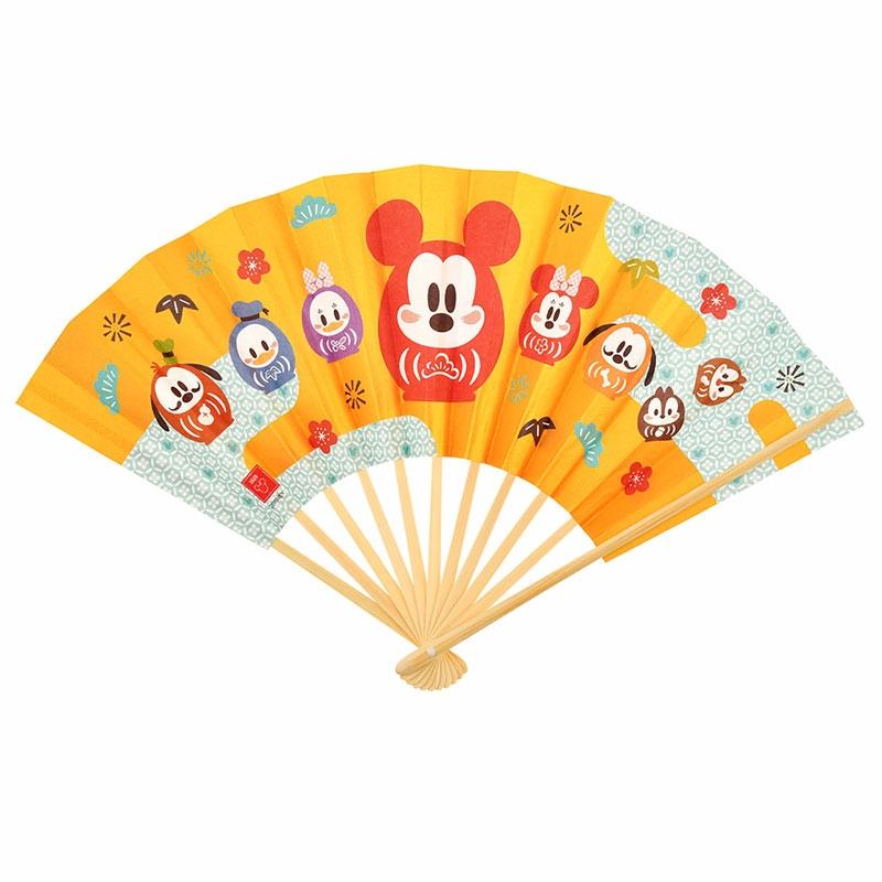 ミッキー&フレンズ 扇子 Eto Disney 2020