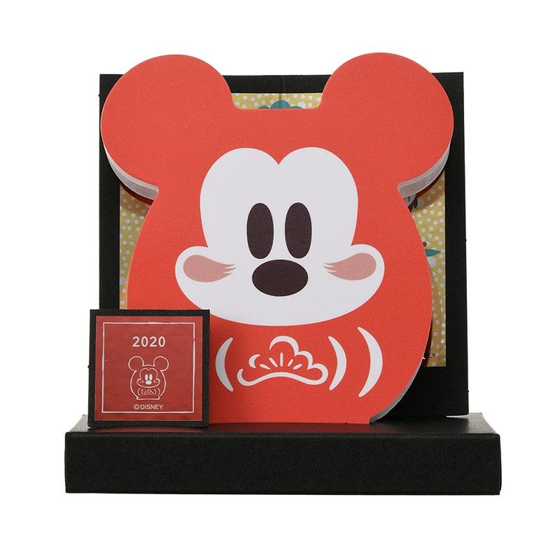【アウトレット】ミッキー メモ帳 だるま Eto Disney 2020