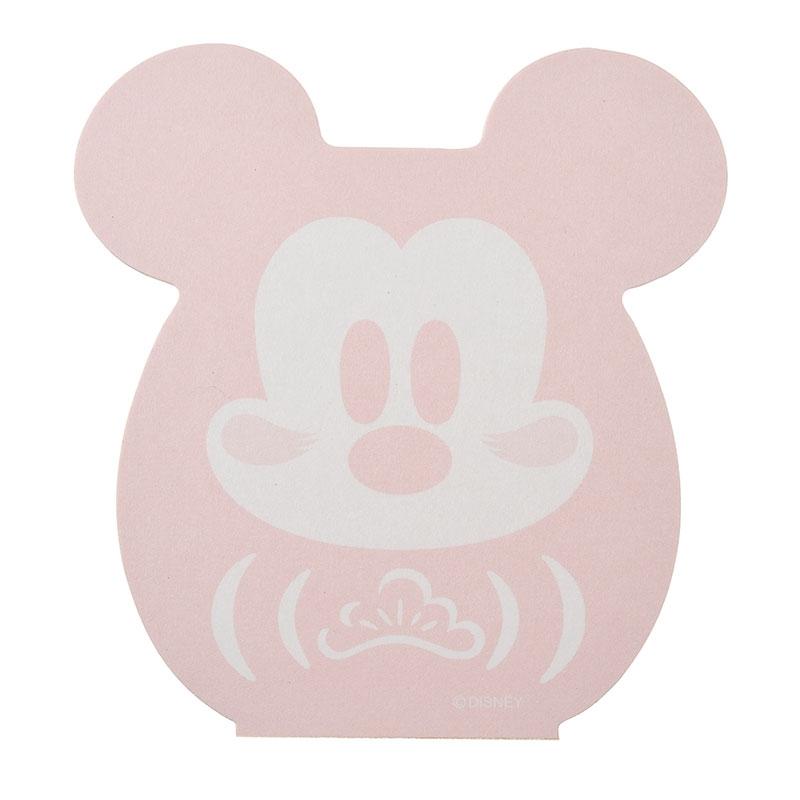 ミッキー メモ帳 だるま Eto Disney 2020