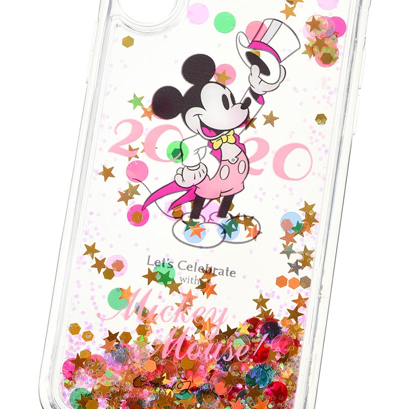 ミッキー iPhone X/XS用スマホケース・カバー Let's Celebrate with Mickey Mouse 2020