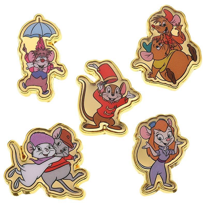 ディズニーキャラクター ピンバッジ セット Year of Mouse