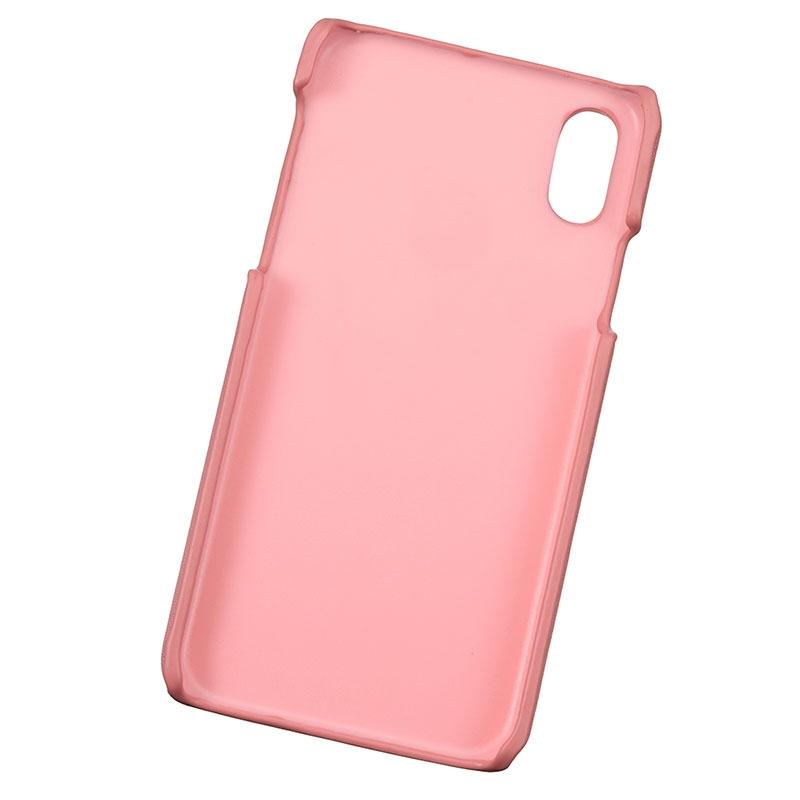 ミッキー iPhone X/XS用スマホケース・カバー ピンク アイコンリング