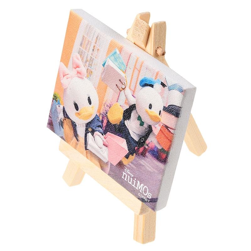 nuiMOs ドナルド&デイジー キャンバスアート ミニ Go Shopping