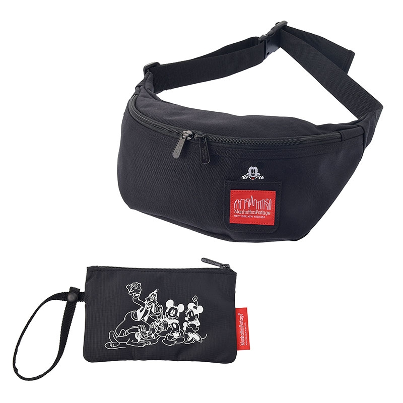 【Manhattan Portage】ミッキー ウエストバッグ Mickey Mouse Collection