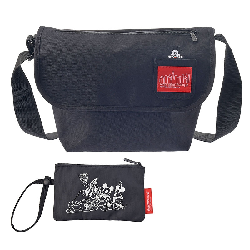 【Manhattan Portage】ミッキー メッセンジャーバッグ(L) Mickey Mouse Collection