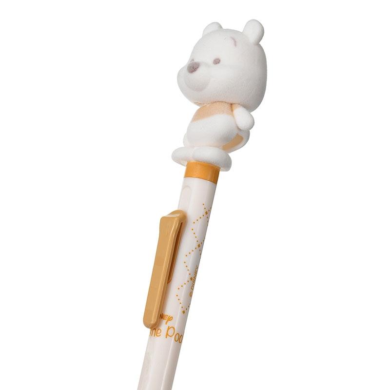 プーさん ボールペン フリフリ White Pooh ゴールド