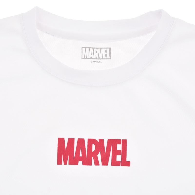マーベル 半袖Tシャツ ロゴ ホワイト HERO