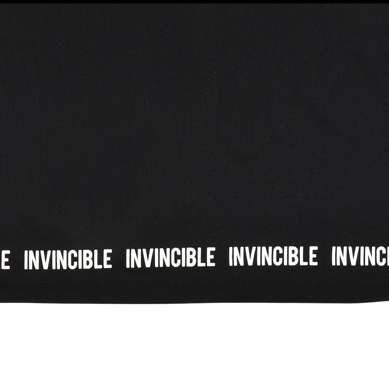 マーベル 半袖Tシャツ ロゴ ブラック HERO