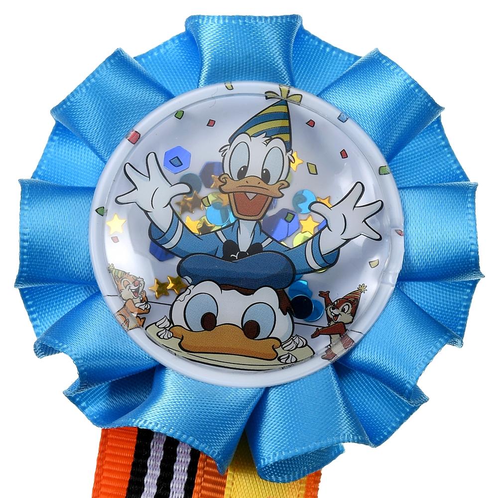 ドナルド、チップ&デール ピンバッジ ロゼット Donald Duck Birthday 2020