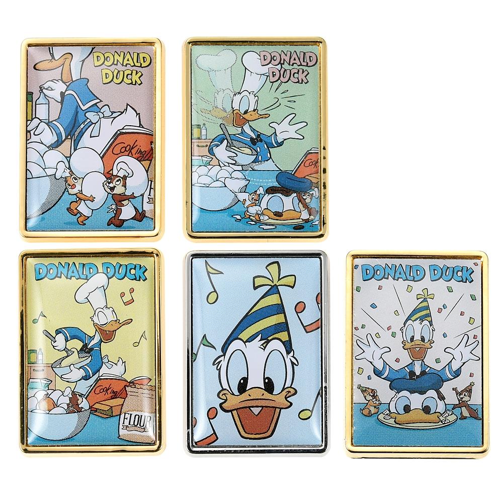 ドナルド、チップ&デール シークレットピンバッジ Donald Duck Birthday 2020