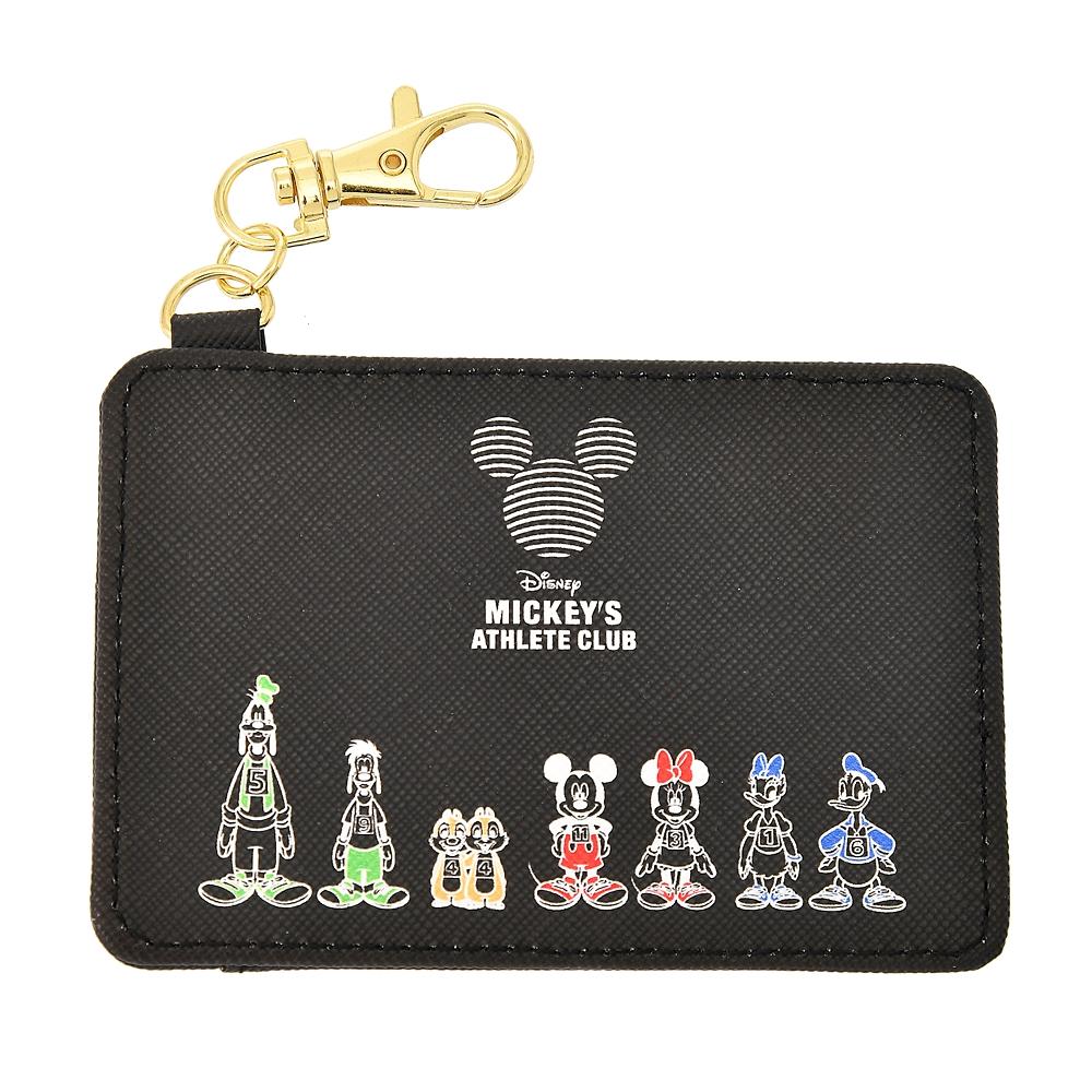 ミッキー&フレンズ 定期入れ・パスケース Mickeys Athlete Club