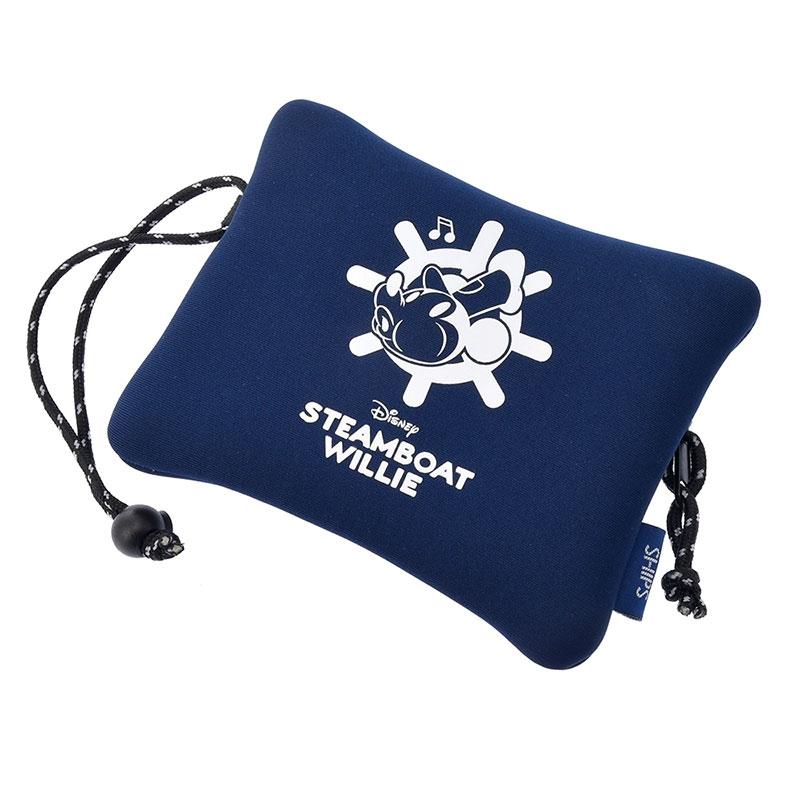 【SHIPS】ミッキー トートバッグ ポーチ付き 蒸気船ウィリー