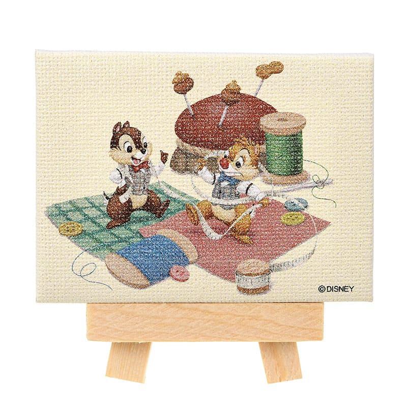 チップ&デール キャンバスアート ミニ Chip&Dale Autumn Collection