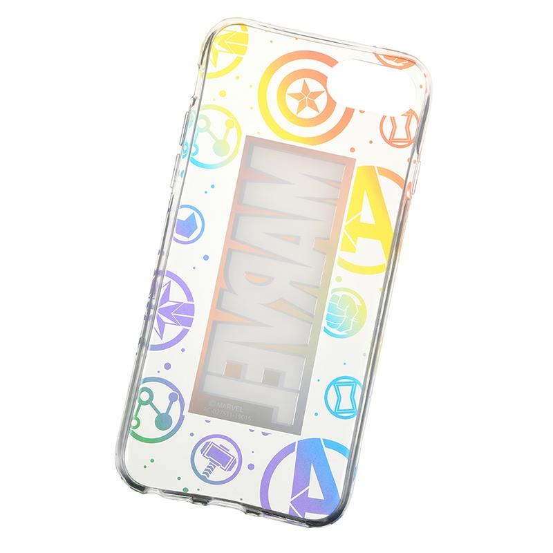 iPhone 6/6s/7/8用スマホケース・カバー マーベル アベンジャーズ/エンドゲーム レインボー