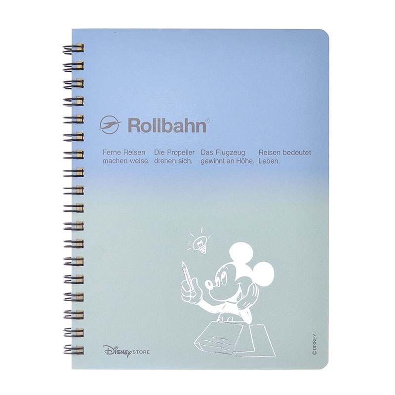 【デルフォニックス】ミッキー Rollbahn ポケット付メモ Color Gradation