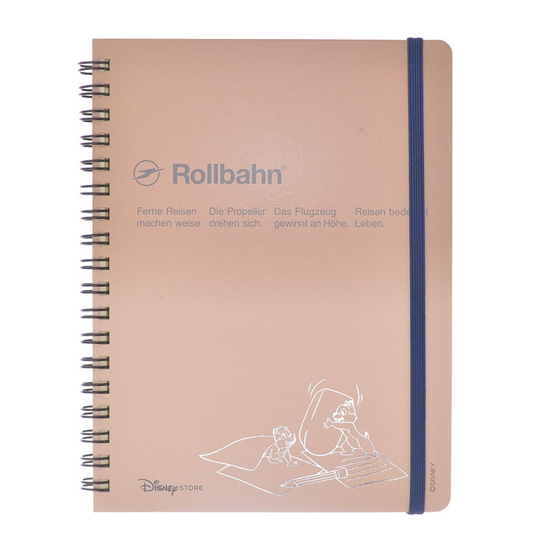 【デルフォニックス】チップ&デール Rollbahn ポケット付メモ Color Gradation