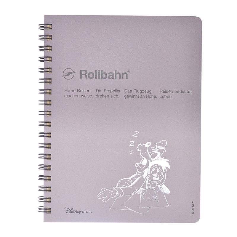 【デルフォニックス】グーフィー&マックス Rollbahn ポケット付メモ Color Gradation