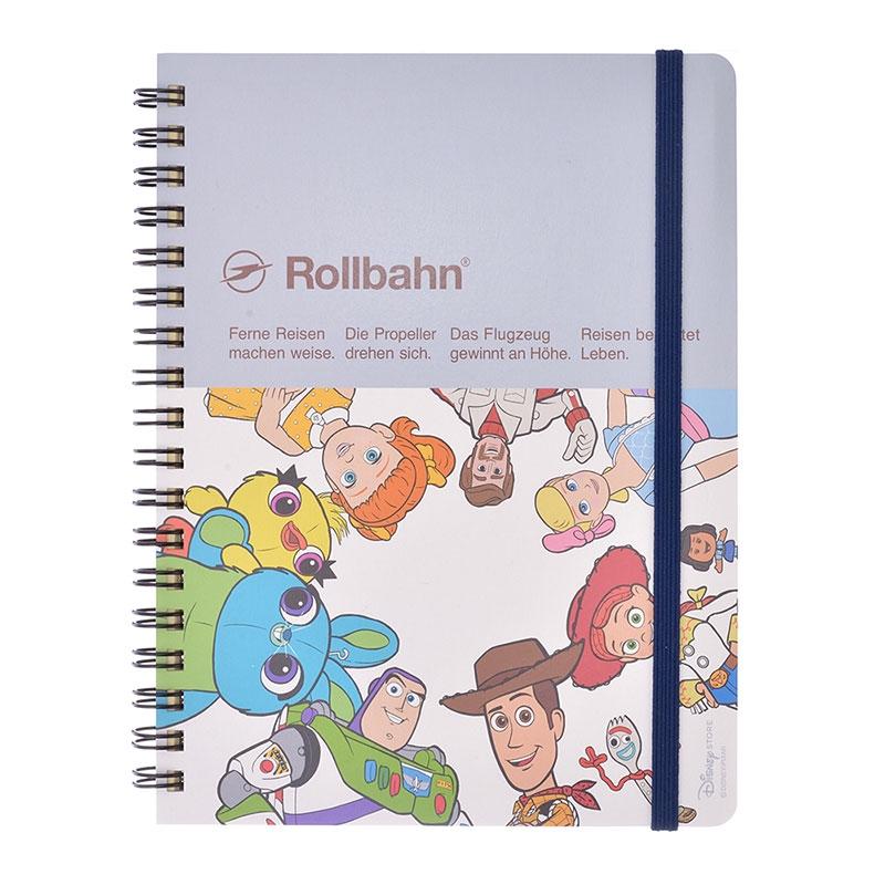 【デルフォニックス】トイ・ストーリー4 Rollbahn ポケット付メモ