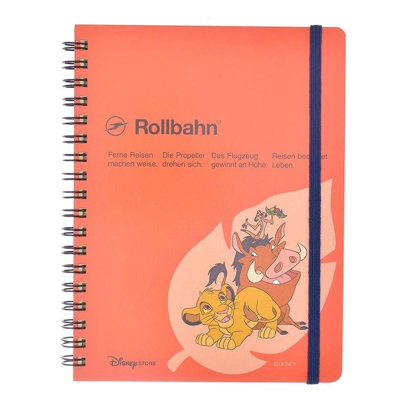 【デルフォニックス】ライオン・キング Rollbahn ポケット付メモ