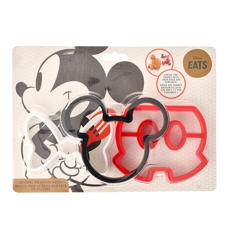 ミッキー&ミニー シリコンモールド パーツ Disney Eats