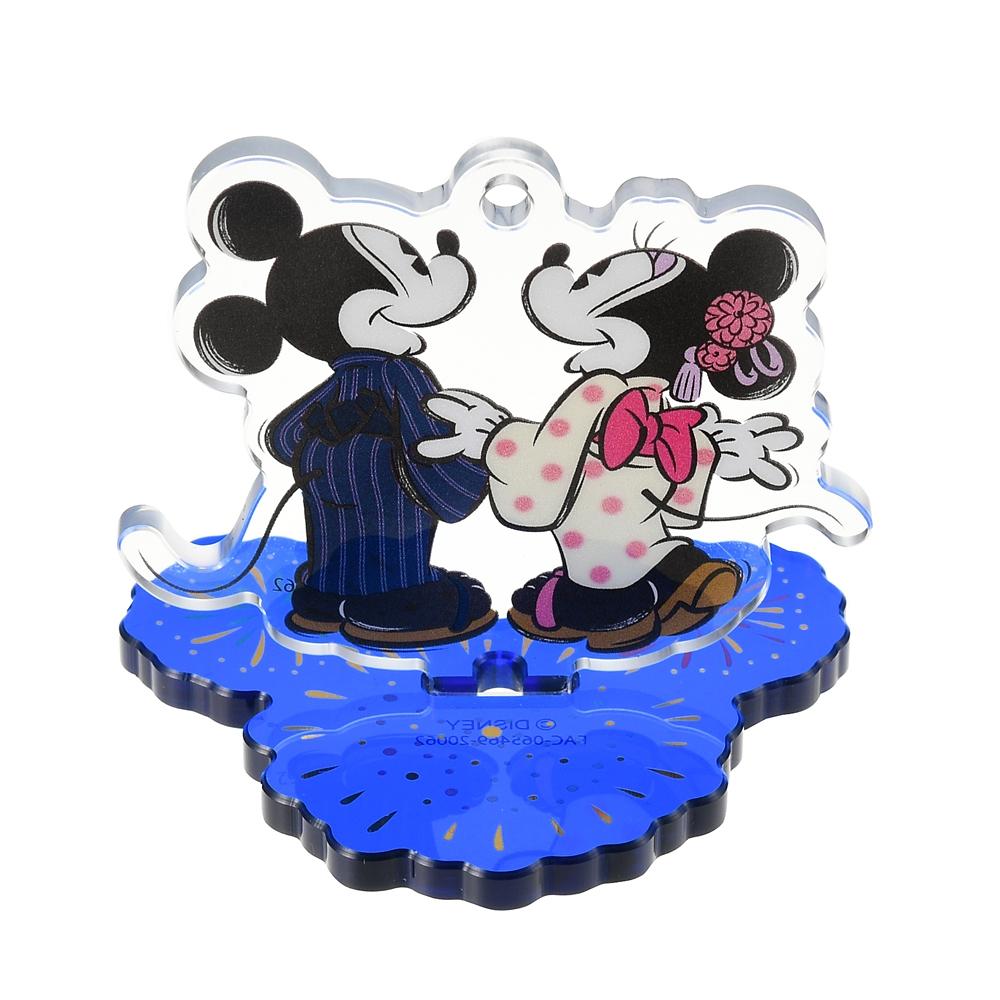 ミッキー&ミニー キーホルダー・キーチェーン 花火 Japan Culture