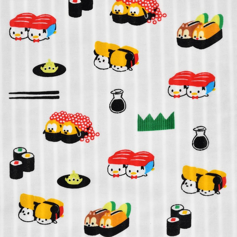 ツムツム ディズニーキャラクター フェイスタオル てぬぐい ツムツム寿司
