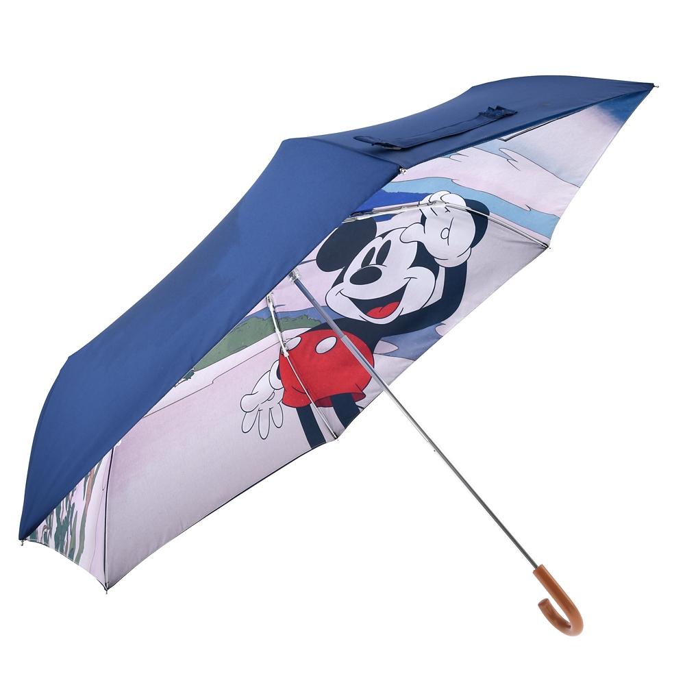 ミッキー 傘 折りたたみ式 Ukiyoe Japan